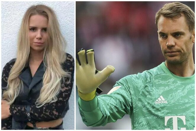 """Anika Bissel ir M.Neueris   """"Twitter"""" nuotr."""