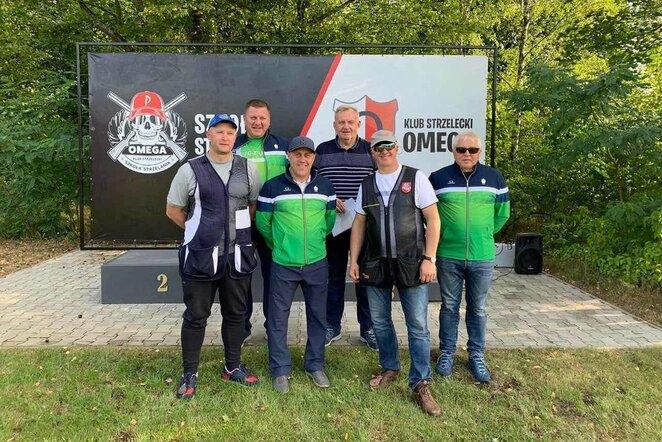 Lietuviai išbandė pasaulio čempionato šaudyklą | Organizatorių nuotr.