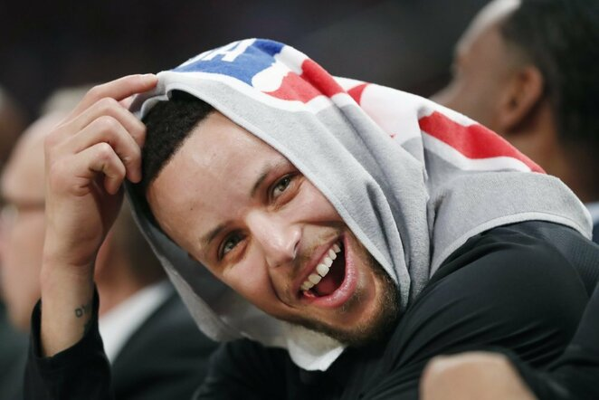 Stephenas Curry | Scanpix nuotr.