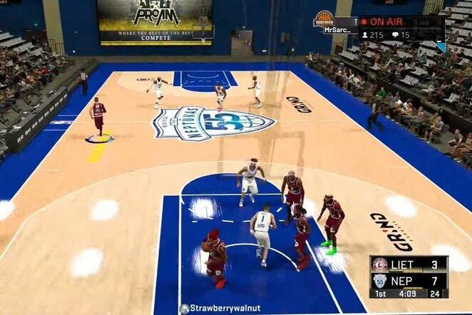 Rungtynių akimirka   Youtube.com nuotr.