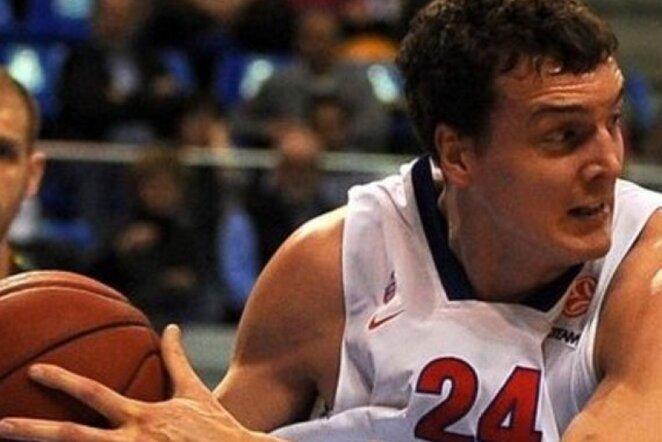 A.Kaunas buvo rezultatyviausias CSKA komandoje (Scanpix nuotr.)