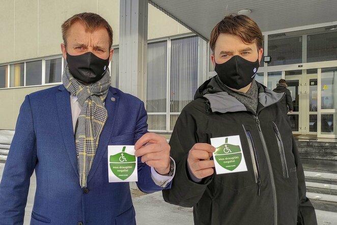 Gilė kvies žmones su negalia sportuoti Vilniuje ir Šiauliuose | Lietuvos paralimpinio komiteto nuotr.