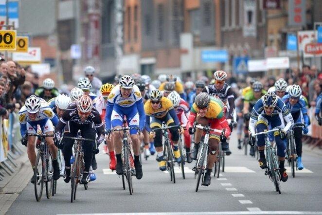 Dviračių lenktynės   AFP/Scanpix nuotr.