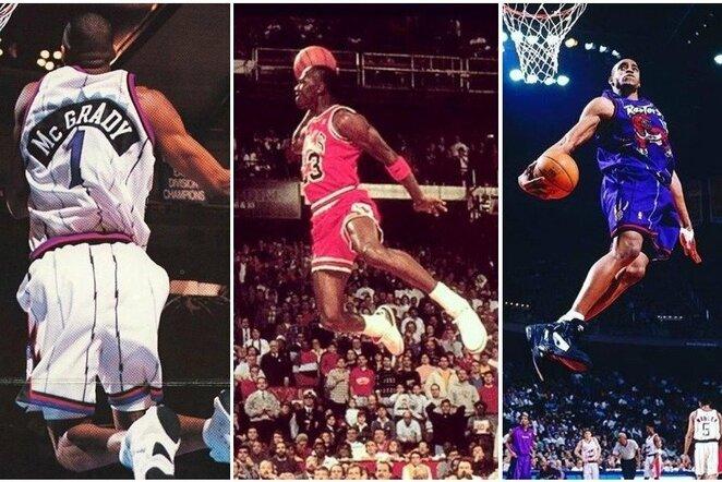 Top 30: kurių NBA krepšininkų šuoliai didžiausi? | Instagram.com nuotr
