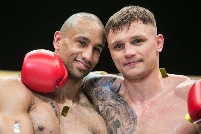 Fraseris Weightmanas ir Sergejus Maslobojevas | Juliaus Kalinsko / BNS foto nuotr.