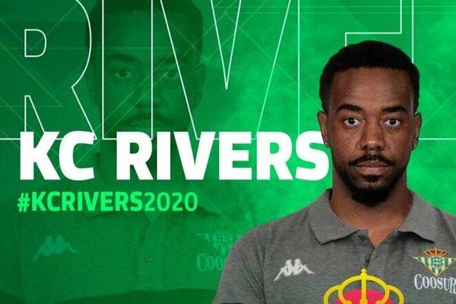 Kelvinas Riversas | Organizatorių nuotr.