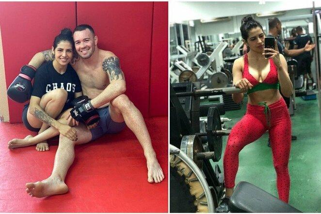 Polyana Viana ir Colby Covingtonas | Instagram.com nuotr