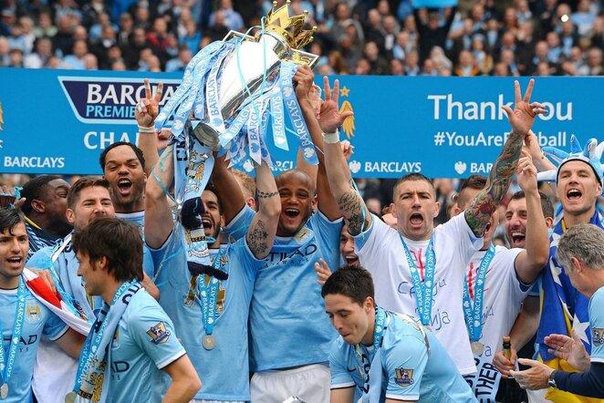 """Man City"" triumfo akimirka  | Scanpix nuotr."