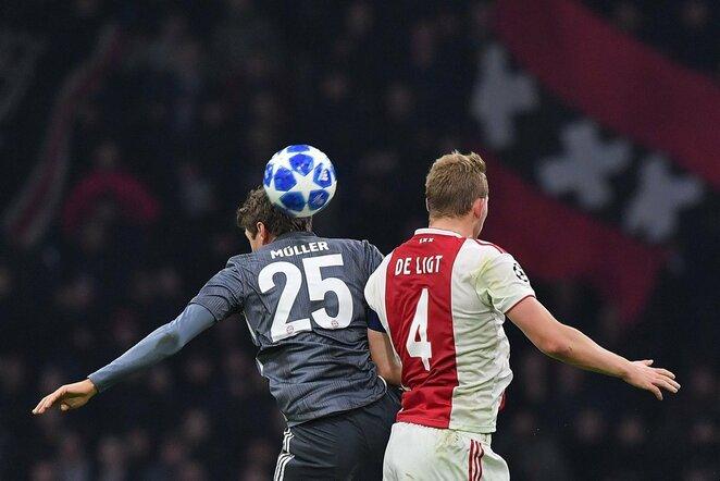 "UEFA Čempionų lyga: Amsterdamo ""Ajax"" - Miuncheno ""Bayern""   Scanpix nuotr."