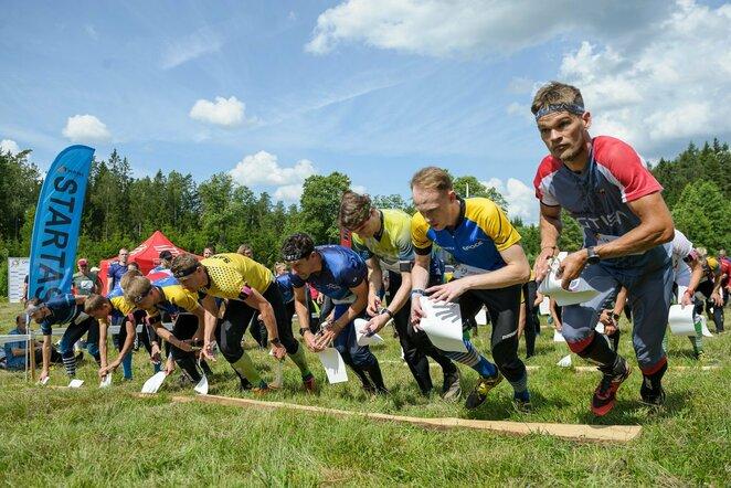 Lietuvos orientavimosi sporto čempionatas labai ilgoje trasoje | Donato Lazausko nuotr.