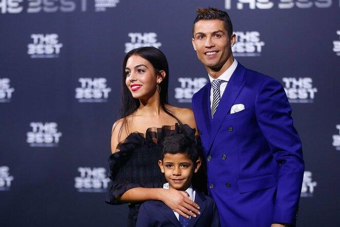 C.Ronaldo su šeima | Scanpix nuotr.