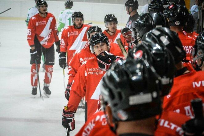 """""""Energija"""" - """"Kaunas Hockey"""" rungtynių akimirka   Tito Pacausko  nuotr."""