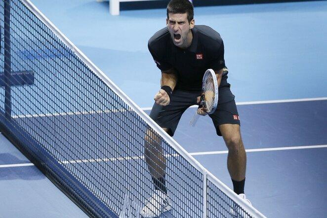 Novakas Djokovičius   AP/Scanpix nuotr.