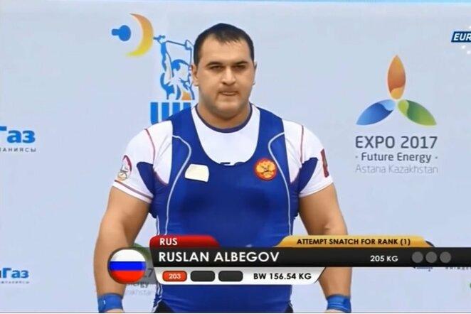 Ruslanas Albegovas   Youtube.com nuotr.