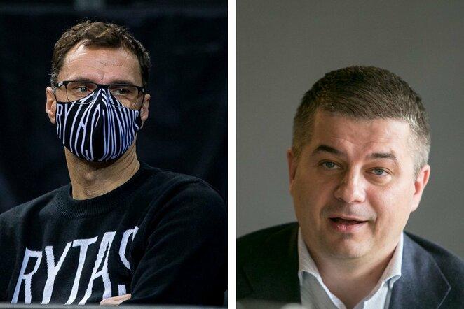 Darius Gudelis ir Gediminas Žiemelis | BNS nuotr.