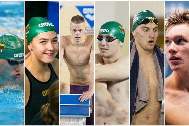Lietuvos plaukikai Europos čempionate | Žygimanto Gedvilos / BNS foto nuotr.