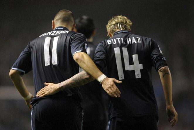 Karimas Benzema ir Guti | Scanpix nuotr.