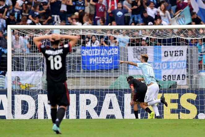 "Italijos ""Serie A"": ""Lazio"" - ""Milan"" | Scanpix nuotr."