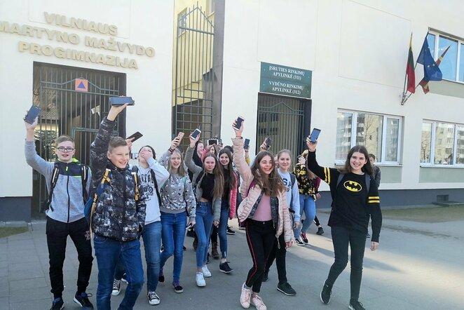 Ėjimo iššūkis: moksleiviai įveikė beveik 93 mln. žingsnių | Organizatorių nuotr.