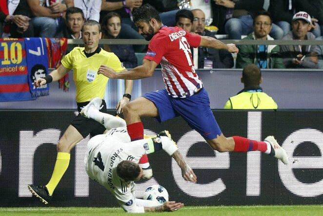 Diego Costa ir Sergio Ramosas | Scanpix nuotr.