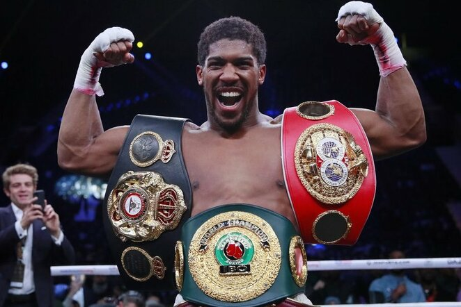 Anthony Joshua | Scanpix nuotr.