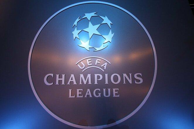 UEFA logo  | NKL nuotr.