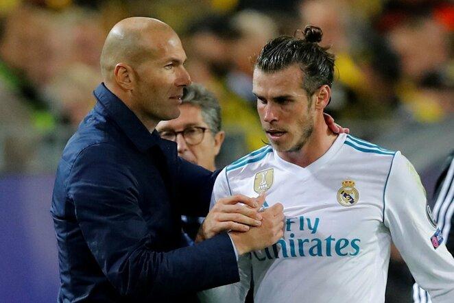 Zinedinas Zidanas, Garethas Bale'as | Scanpix nuotr.