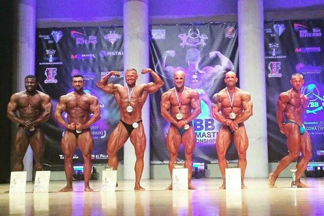 IFBB pasaulio veteranų čempionatas   Organizatorių nuotr.