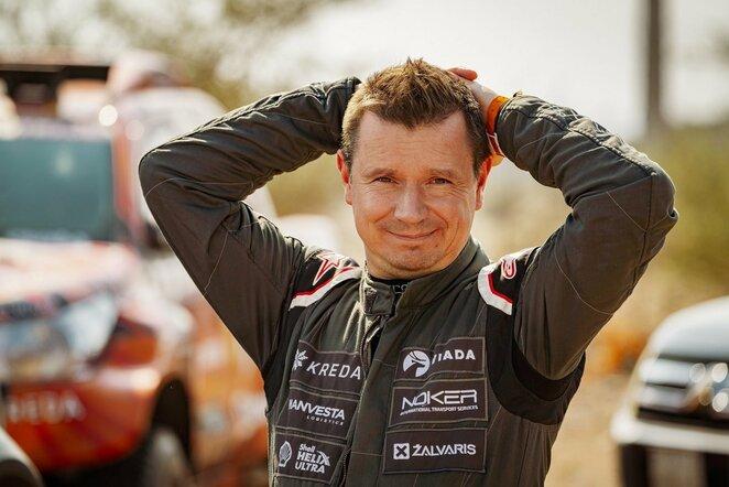 A.Juknevičius rengia pirmąjį Lietuvoje Dakaro relikvijų aukcioną   Organizatorių nuotr.