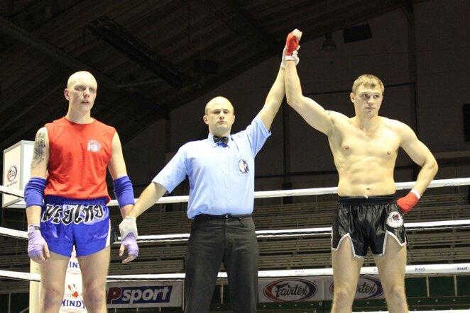 Sergejus Maslobojevas (dešinėje) | Sportas.lt/Dominyko Genevičiaus nuotr.