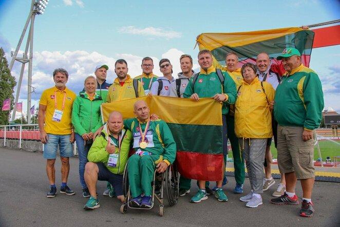 Lietuvos lengvaatlečiai   Lietuvos paralimpinio komiteto nuotr.