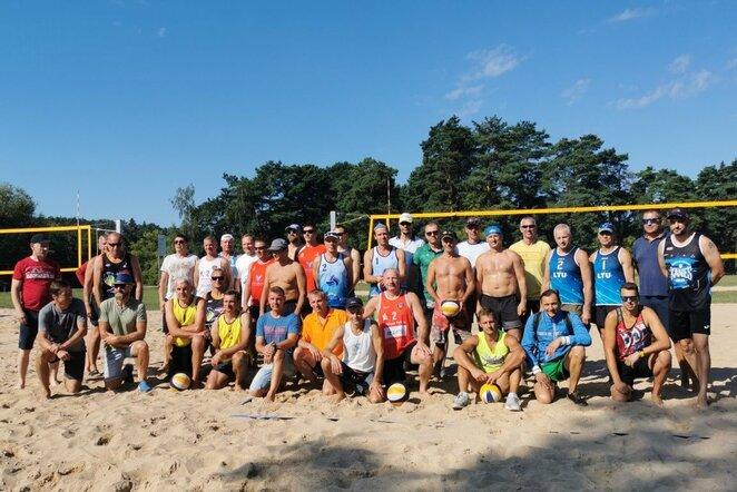 Lietuvos veteranų paplūdimio tinklinio čempionato trečiasis etapas   Organizatorių nuotr.