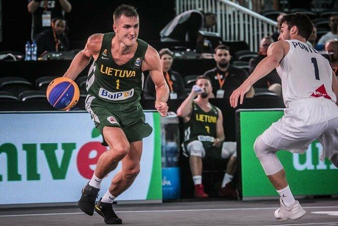 Lietuvių ir prancūzų rungtynės | FIBA nuotr.