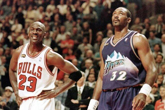 Jordanas ir Malone | Organizatorių nuotr.