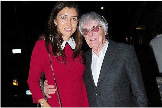 Fabiana Flosi ir Bernie Ecclestone'as   Instagram.com nuotr