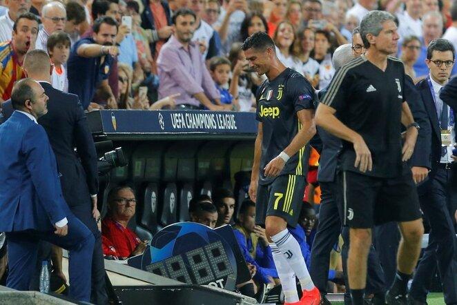"""UEFA Čempionų lyga: """"Valencia"""" - Turino """"Juventus"""" (2018.09.19)   Scanpix nuotr."""