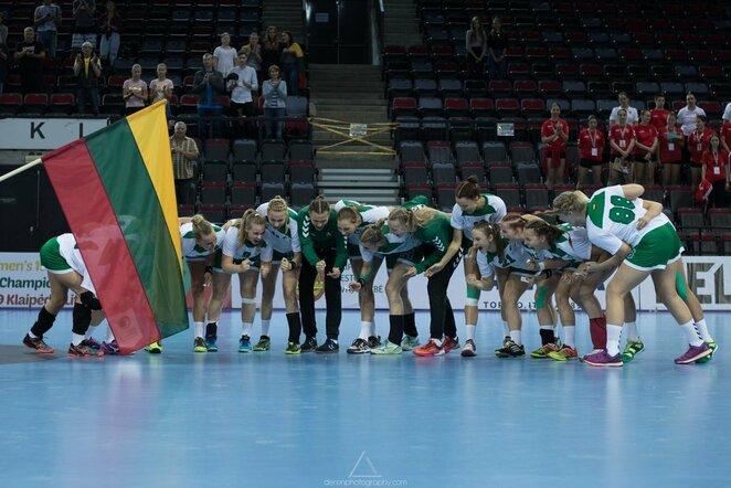 Lietuvos merginų rankinio rinktinė | rankinis.lt nuotr.