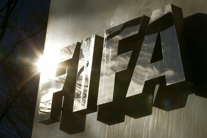 FIFA logotipias | Scanpix nuotr.