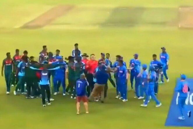 Pasaulio jaunimo kriketo čempionato finalas | Youtube.com nuotr.
