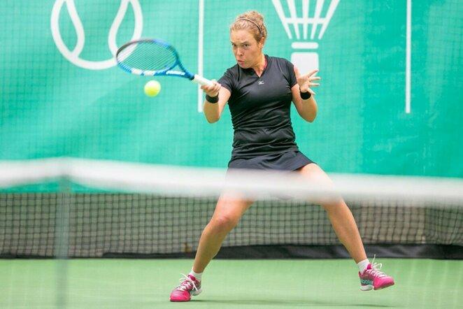 ITF moterų teniso turnyras Vilniuje   Sauliaus Čirbos nuotr.
