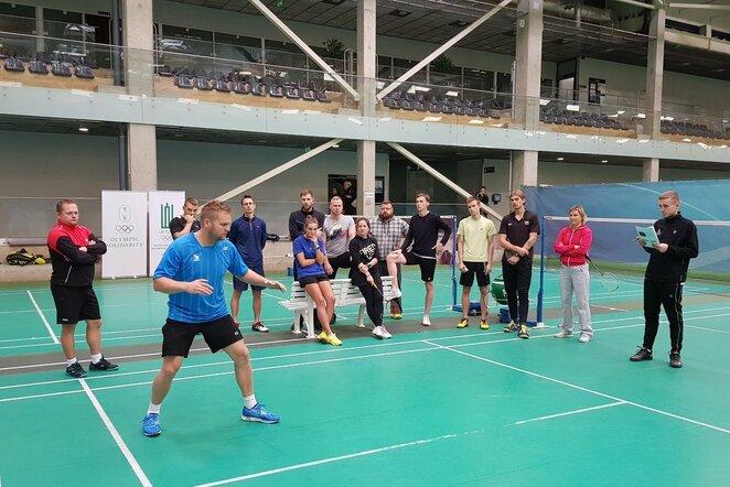 Aukščiausio lygio trenerių rengimo ekspertas pasidalino patirtimi su lietuviais | Organizatorių nuotr.