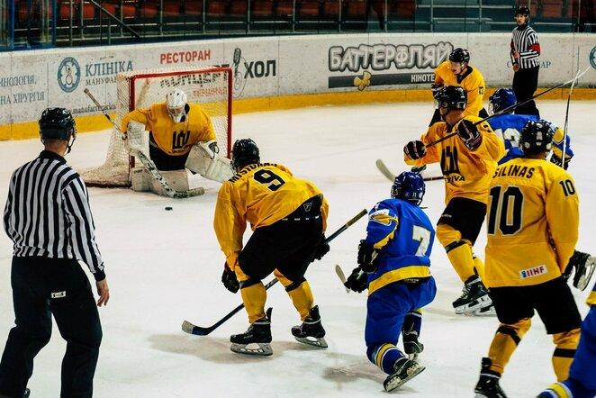 Lietuvių ir ukrainiečių rungtynės | hockey.lt nuotr.