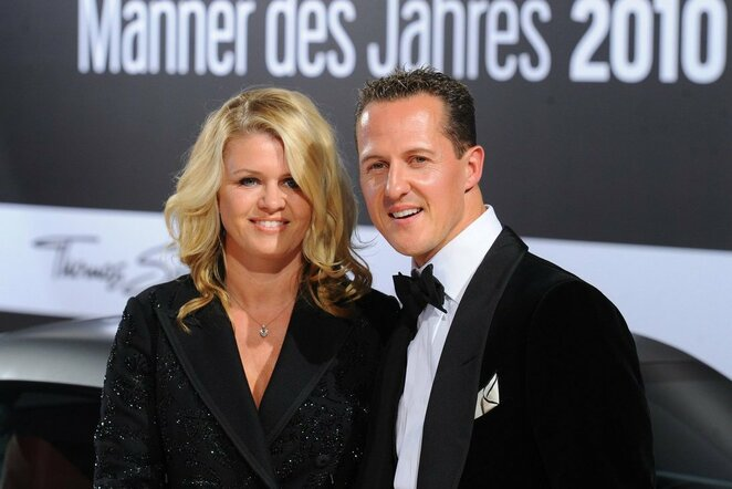 Michaelis ir Corinna Schumacheriai   Scanpix nuotr.