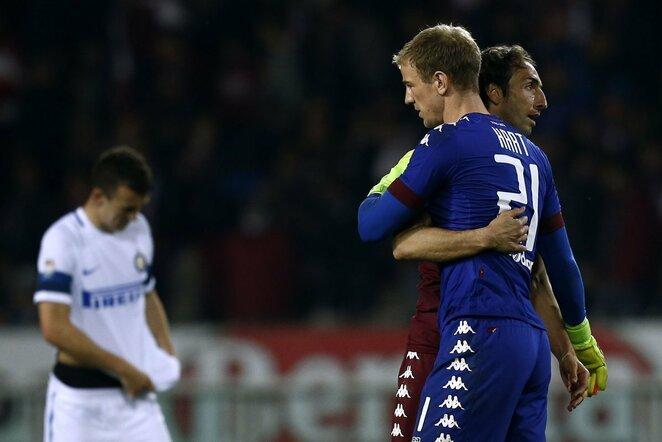 """""""Torino"""" – """"Inter"""" rungtynių akimirka   Scanpix nuotr."""