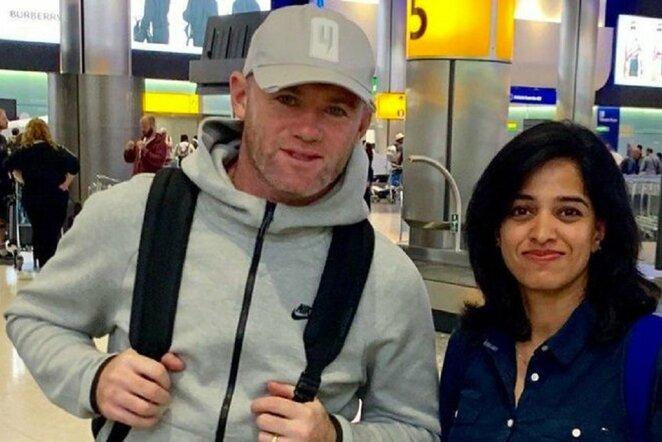 Wayne'as Rooney   Organizatorių nuotr.
