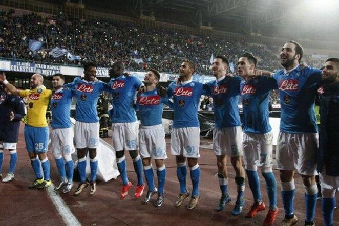 """""""Napoli"""" pasiekė pergalę   AFP/Scanpix nuotr."""