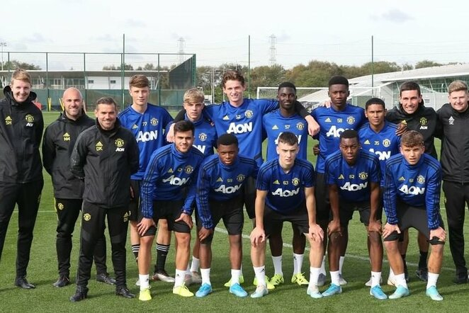 """Man United"" jaunimo komanda | Instagram.com nuotr"