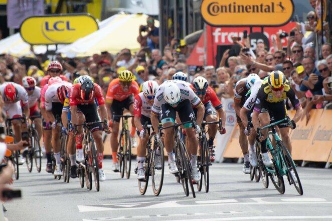 "Pirmasis ""Tour de France"" etapas | Scanpix nuotr."