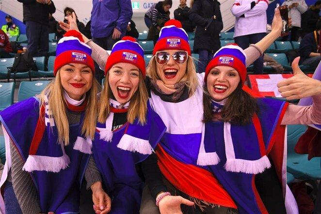 Olimpinių atlečių iš Rusijos ir Šveicarijos rinktinių rungtynės   Scanpix nuotr.