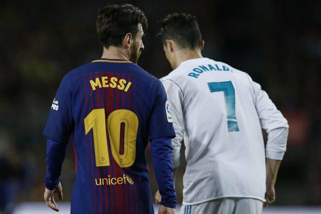 L.Messi ir C.Ronaldo | Scanpix nuotr.
